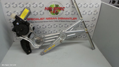 NISSAN NOTE E12 13-17 DRIVERS OFFSIDE FRONT RIGHT WINDOW REGULATOR