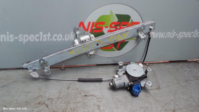 NISSAN JUKE F15 DRIVERS OFFSIDE FRONT RIGHT WINDOW REGULATOR