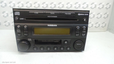 X TRAIL RADIO 6 CD TAPE PLAYER PART NUMBER 28188 EQ300