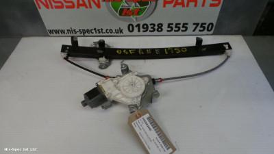 NISSAN MICRA K12 03-12 5 DOOR DRIVERS OFFSIDE FRONT RIGHT OSF WINDOW REGULATOR