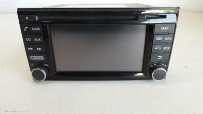 JUKE F15 10-18 RADIO CD SAT NAV P/N 25915 BV80A