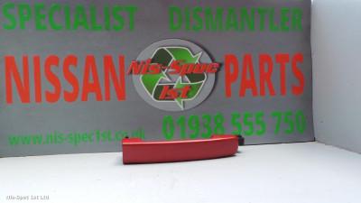Nissan Qashqai J10 06-14 Passenger Rear Outer Door Handle Not Keyless