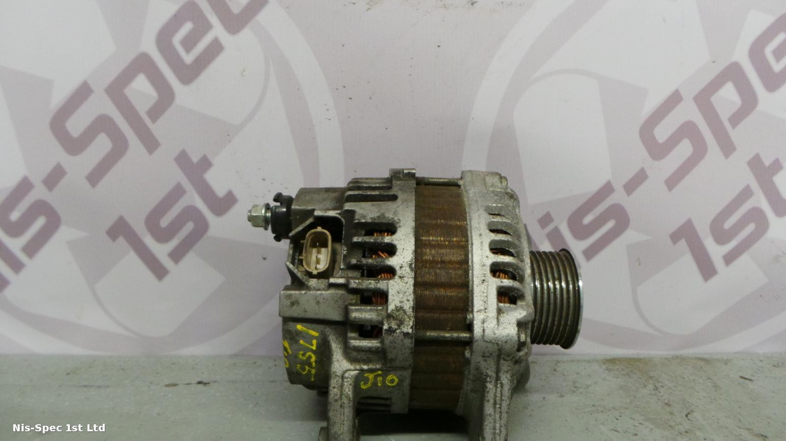 QASHQAI ALTERNATOR PART NUMBER 23100 BC00A 1.6 PETROL J10 06-13