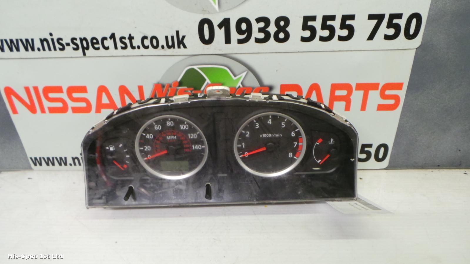 Almera N16 Speedometer 00 - 07 BN914