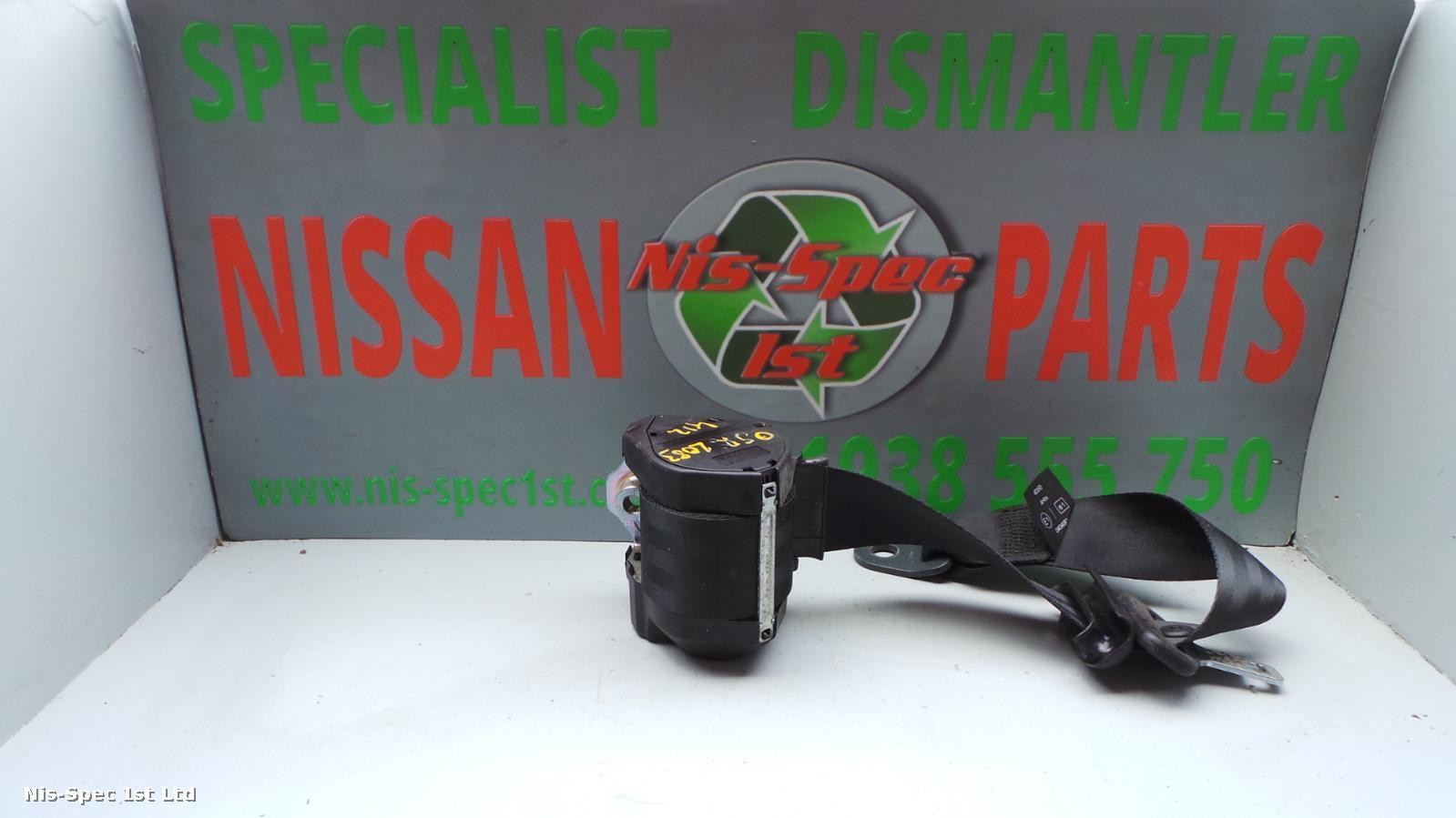 NISSAN MICRA K12 03-10 DRIVERS OFFSIDE RIGHT REAR SEAT BELT 3 DOOR PART NUMBER 88844 BC101