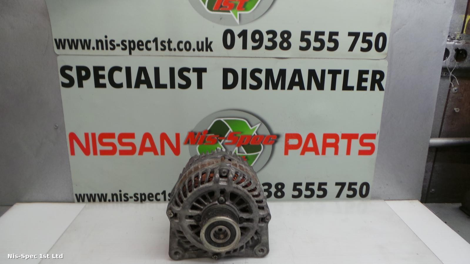 QASHQAI ALTERNATOR J10 10-13 1.6 DIESEL PART NUMBER 23100 JD71B