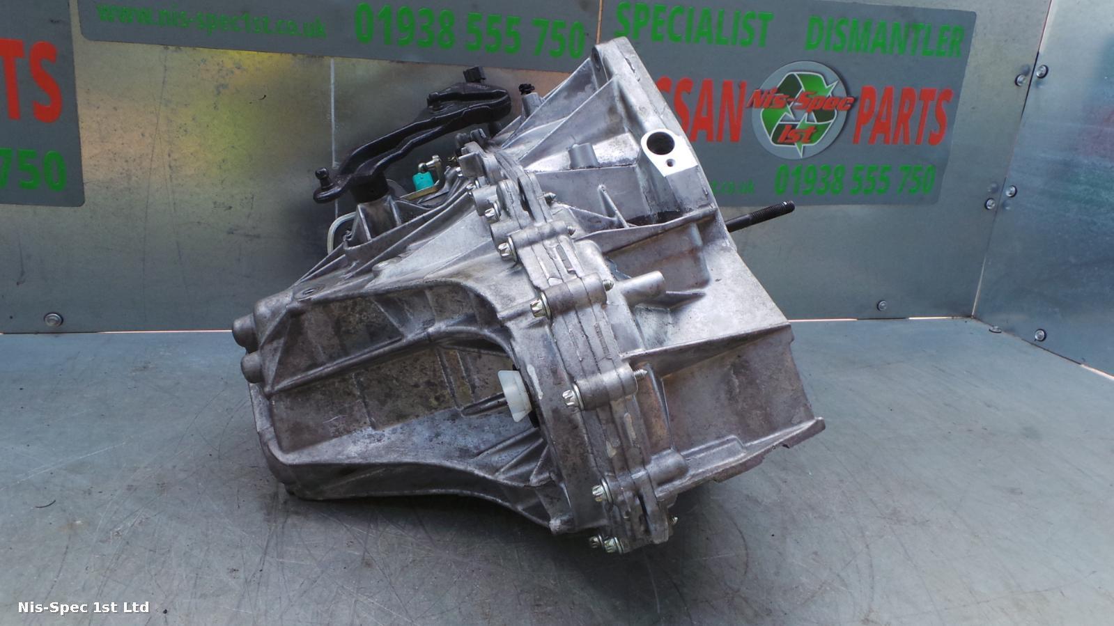 NISSAN QASHQAI J11 1.2 PETROL 13-17 6 SPEED MANUAL GEARBOX 12 MONTH WARRANTY