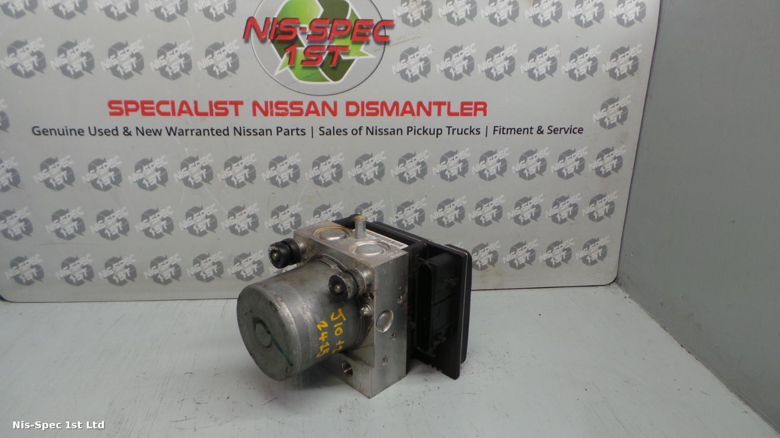 QASHQAI ABS PUMP J10 06-13 1.5 DIESEL PART NUMBER 47660 BR00C