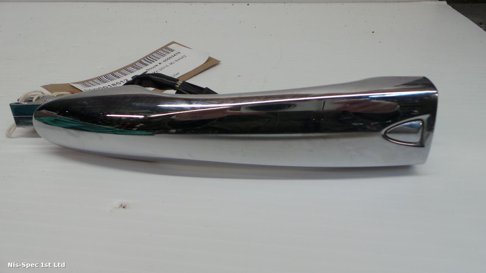 Nissan X Trail DRIVERS OUTER DOOR HANDLE T32 14-18 IN CHROME