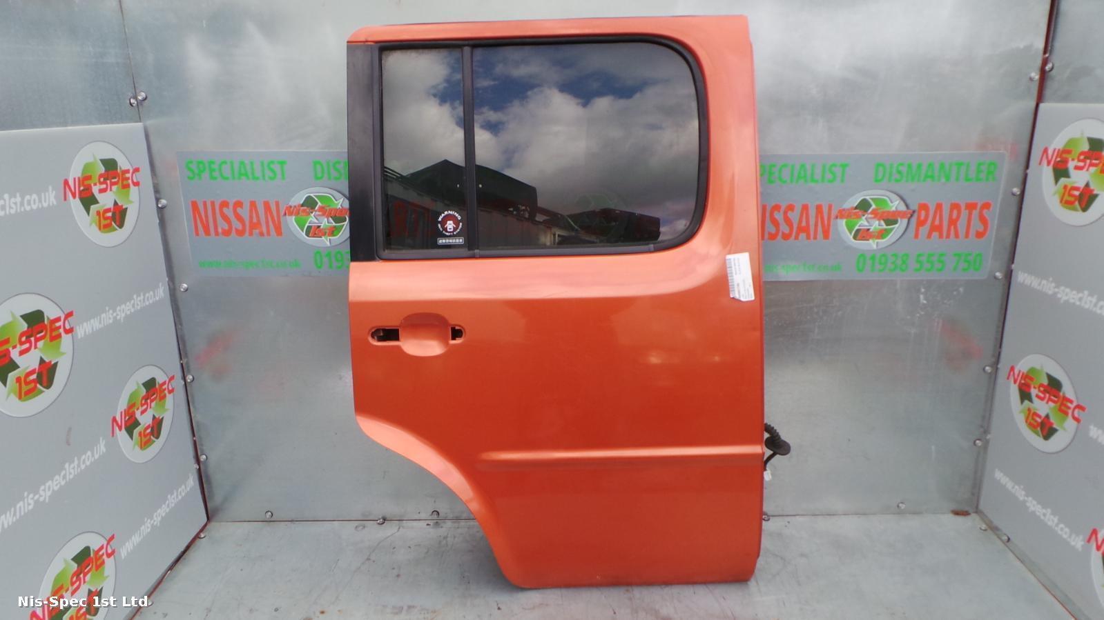 Nissan Cube 02 - 08 Driver Side Rear Bare Door