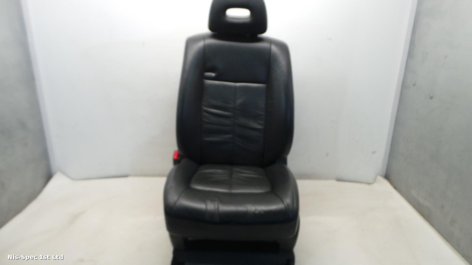 NISSAN X TRAIL T31 07-13 PASSENGER LEFT FRONT NEARSIDE LEATHER SEAT ELECTRIC