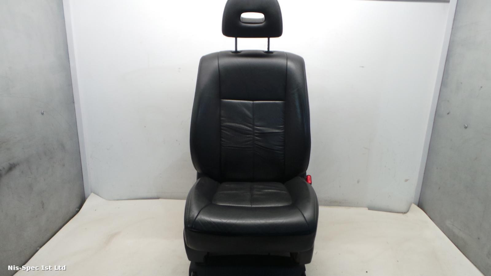 NISSAN X TRAIL T31 DRIVERS FRONT OFFSIDE RIGHT LEATHER ELECTRIC SEAT