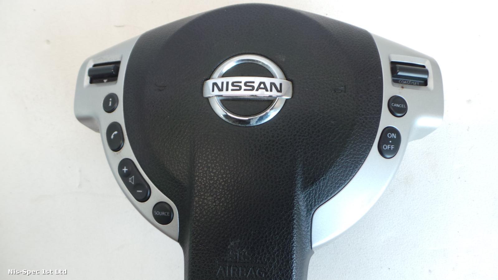 NISSAN X TRAIL T31 07-10 DRIVERS AIRBAG