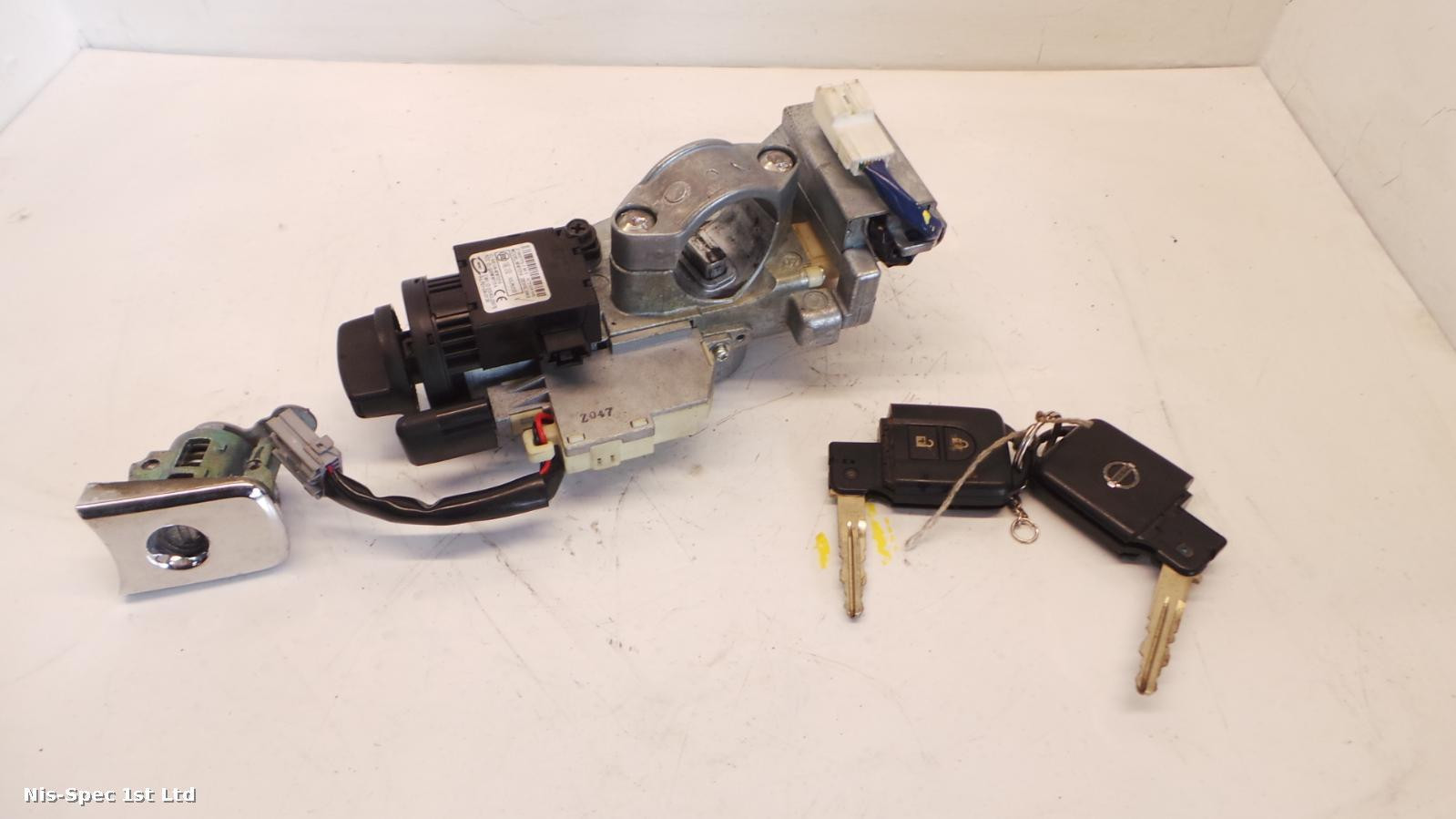 NISSAN X TRAIL T31 07-13 IGNITION AND KEY KEYLESS ENTRY MANUAL
