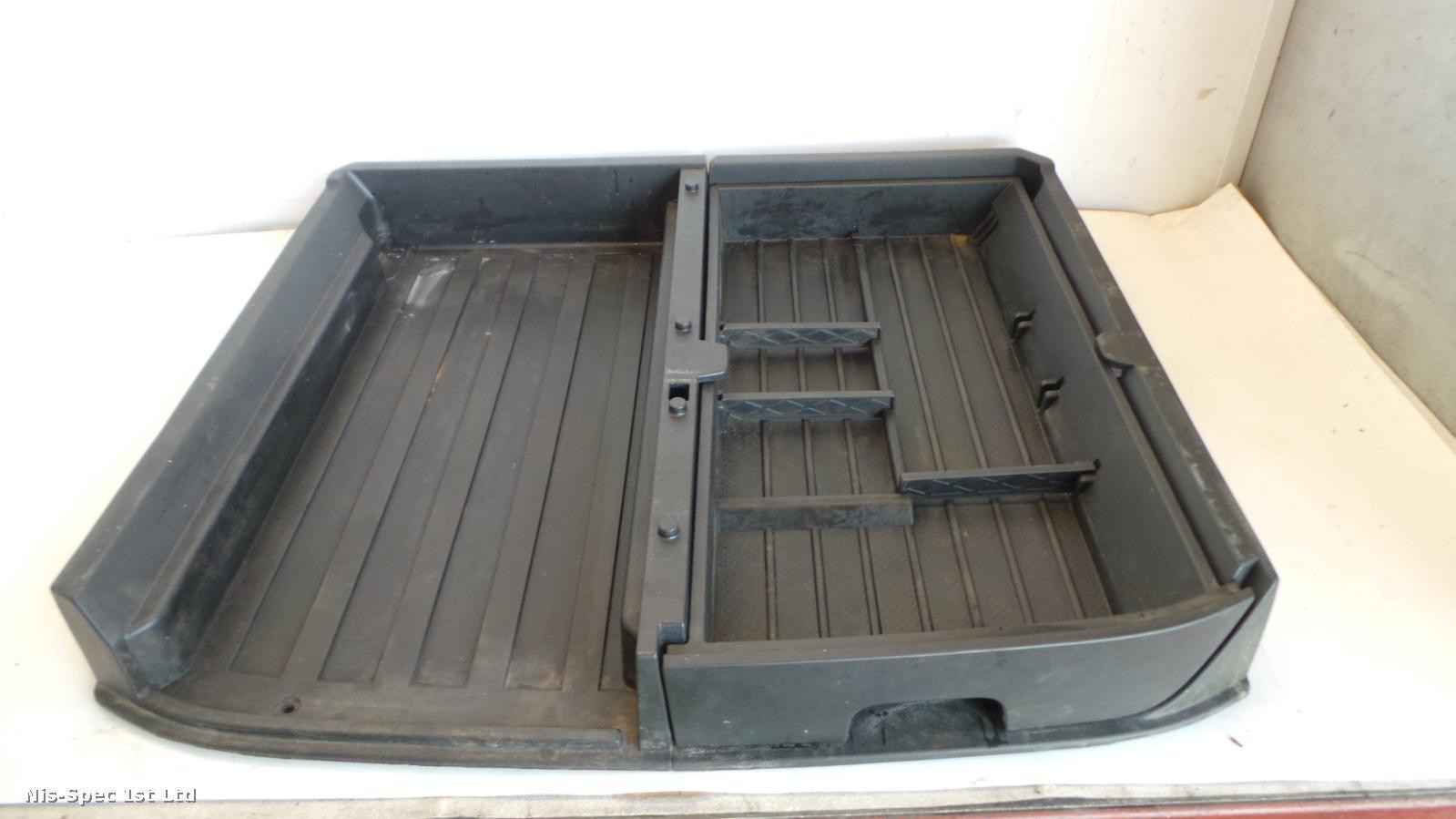 NISSAN X TRAIL T31 07-13 BOOT LINER AND DRAWER