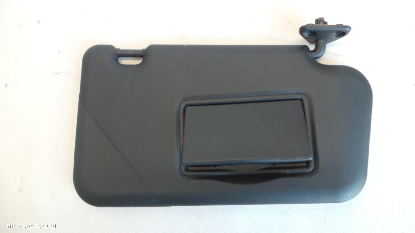 NISSAN JUKE F15 DRIVERS OFFSIDE RIGHT SUN VISOR