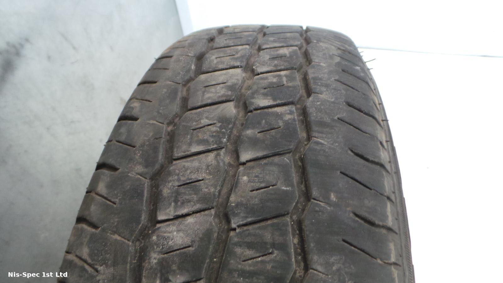 NISSAN NV200 STEEL WHEEL AND TYRE 175-70-14  WITH 4mm TREAD