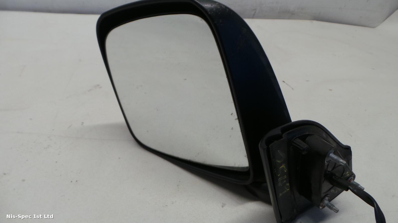NV200 PASSENGER LEFT FRONT NEARSIDE DOOR MIRROR