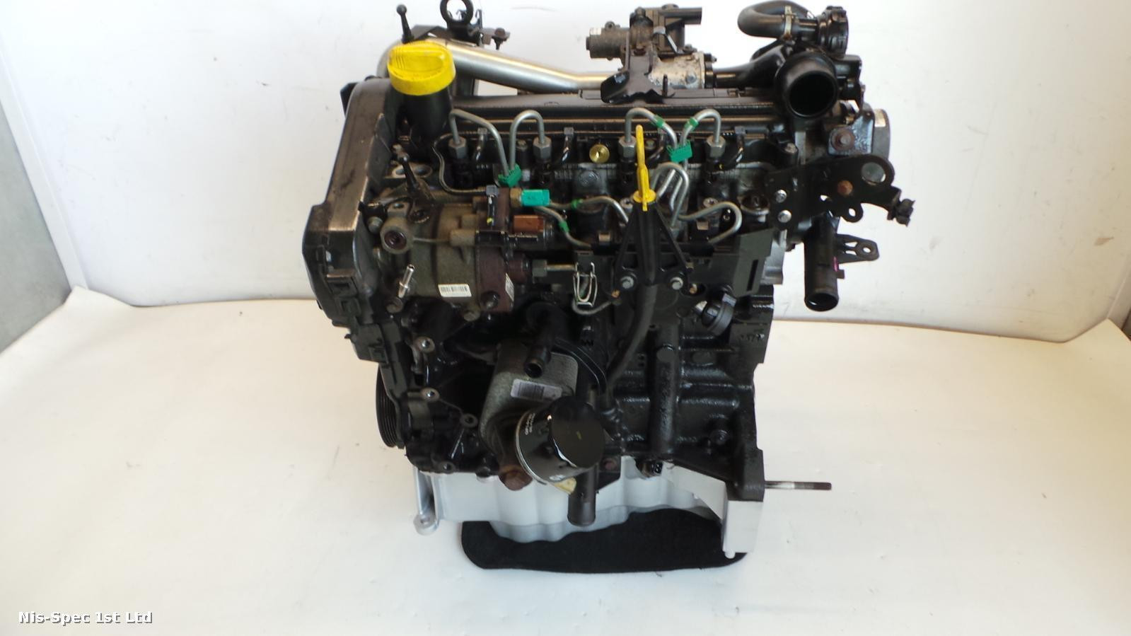 NISSAN NV200 1.5 DIESEL ENGINE K9KF276 NO TURBO OR FLYWHEEL