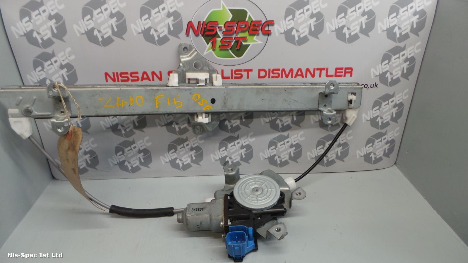 NISSAN JUKE F15 10-18 DRIVERS OFFSIDE FRONT RIGHT OSF WINDOW REGULATOR