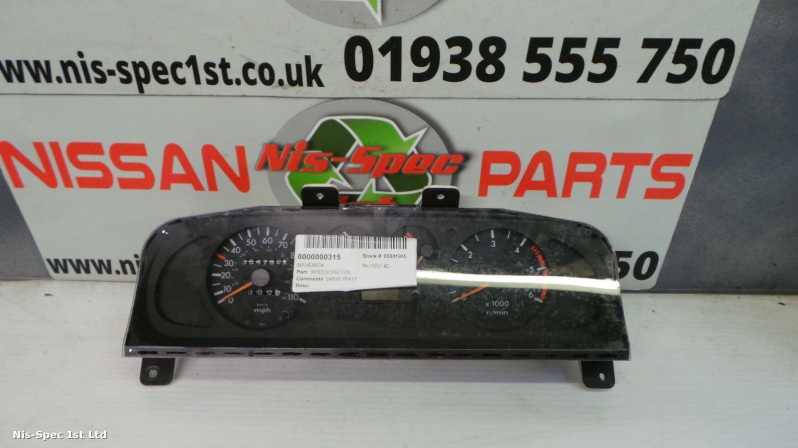 Nissan Terrano Speedometer 24810 7F417