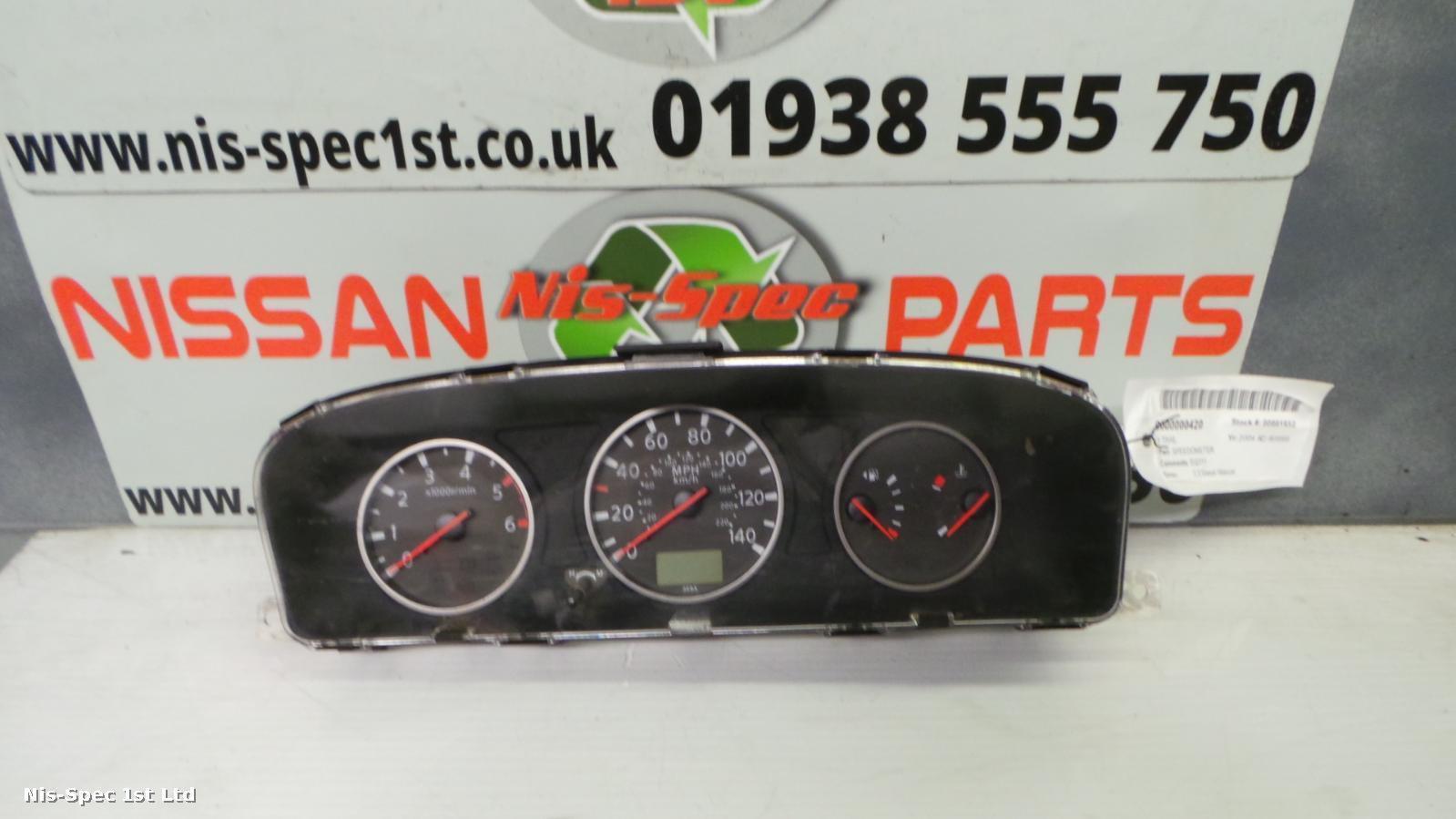 Nissan X Trail T30 01 - 06 Speedometer EQ311