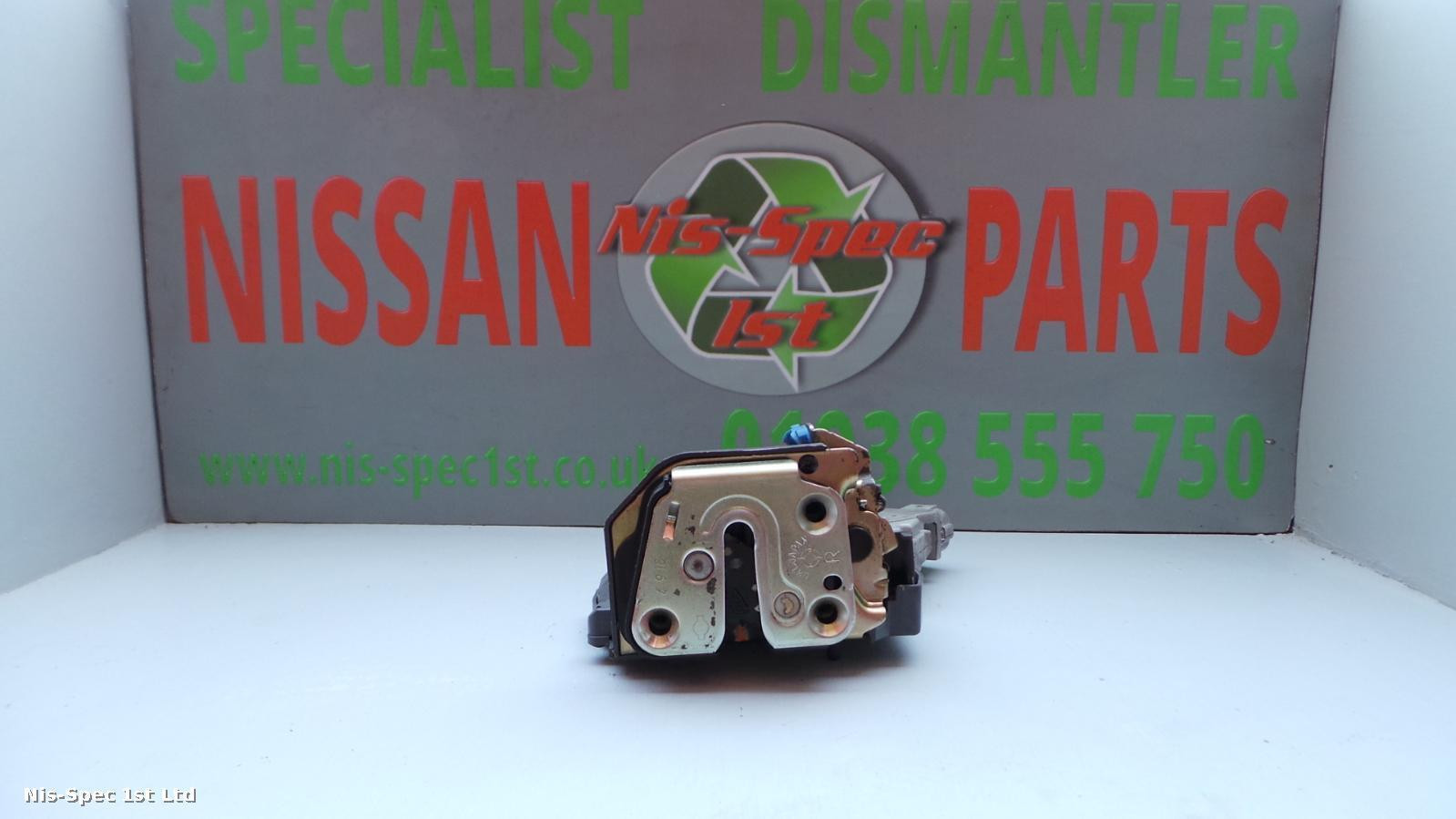 Nissan X Trail T30 Door Lock Assembly / Solenoid Offside Rear Right 01 - 07