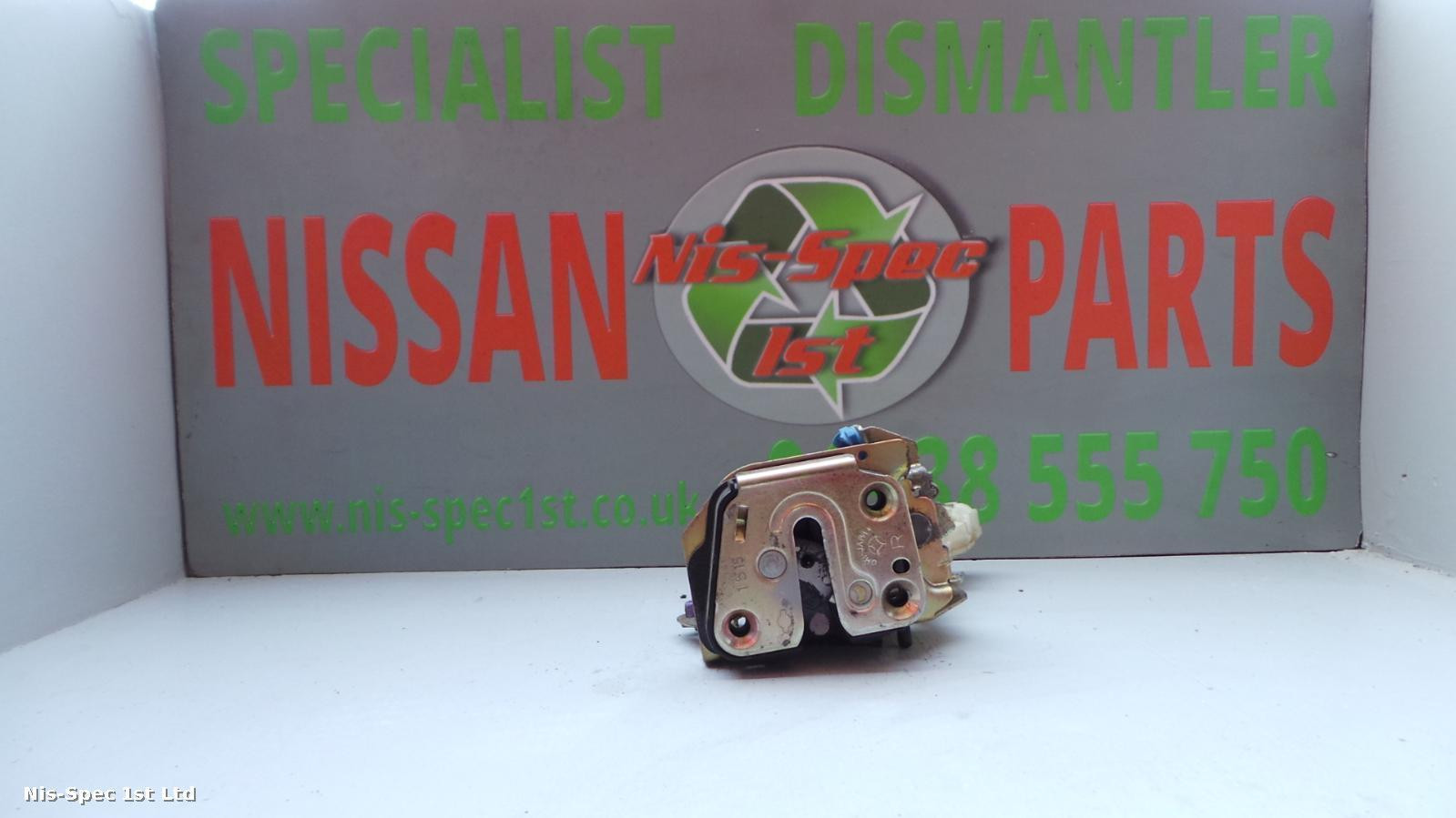 Nissan X Trail T30 Door Lock Assembly / Solenoid Offside Rear Right