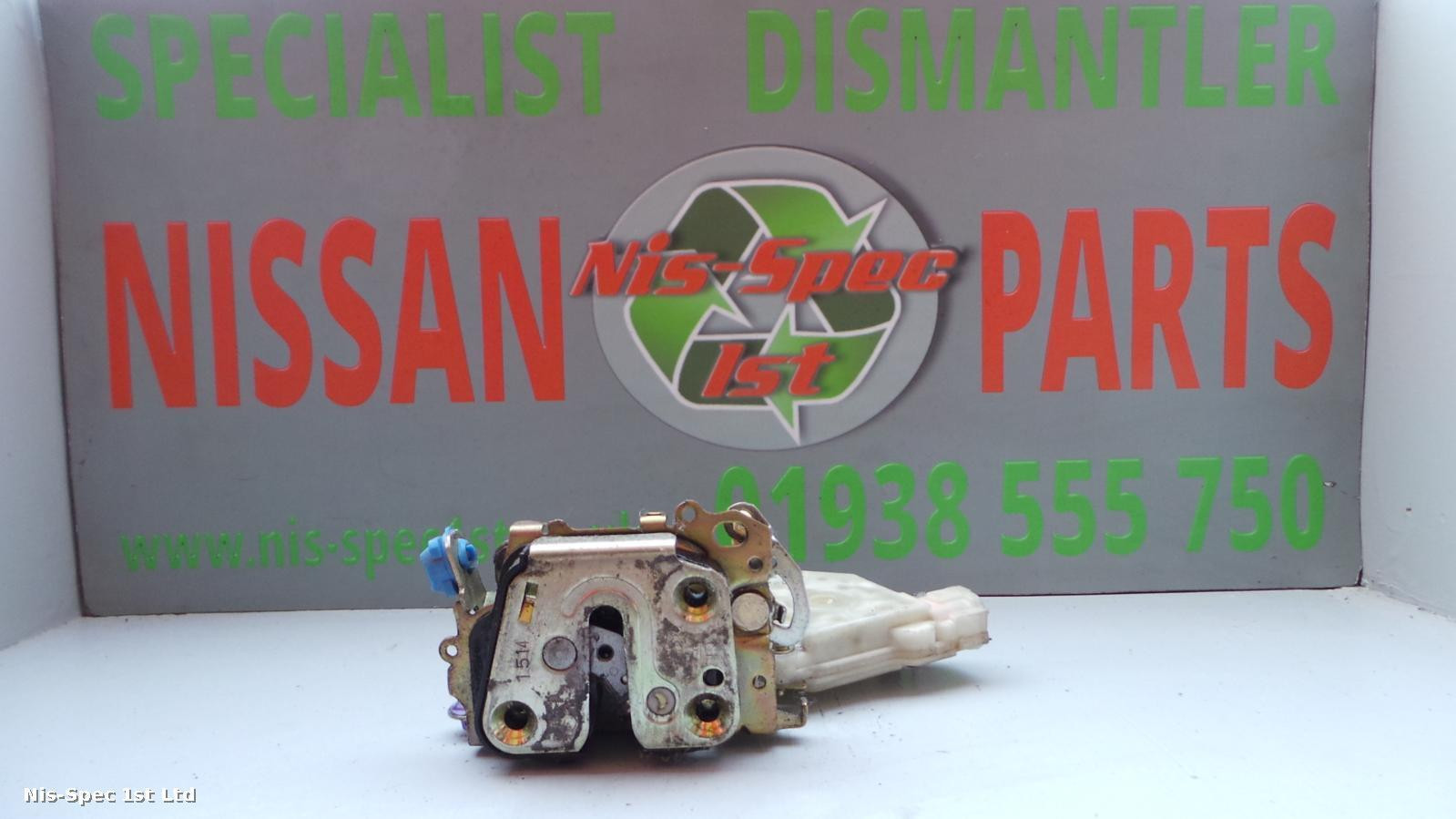 Nissan X Trail T30 Door Lock Assembly / Solenoid Offside Front Right 01 - 07