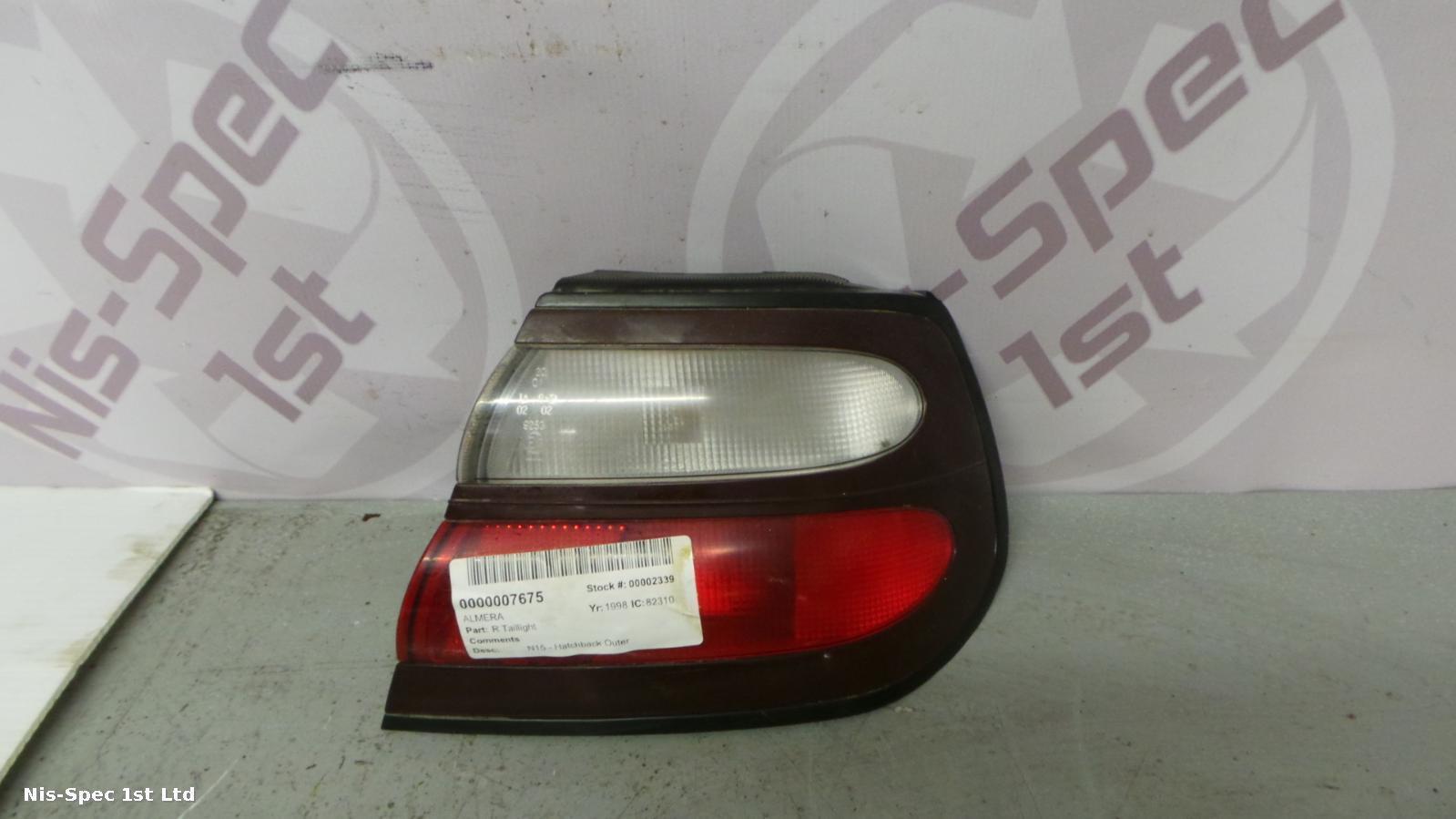 Nissan Almera N15 95 - 00 Driver Side Taillight